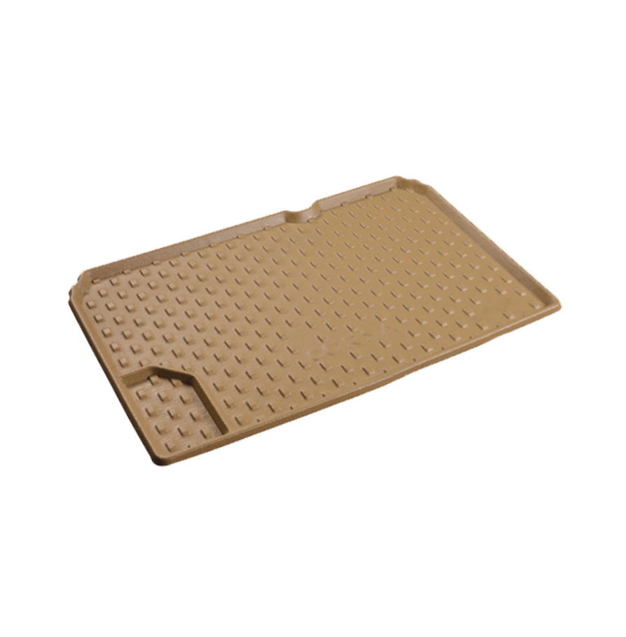 کفی صندوق عقب چرم سه بعدی اپل کورسا - کرم - بابل