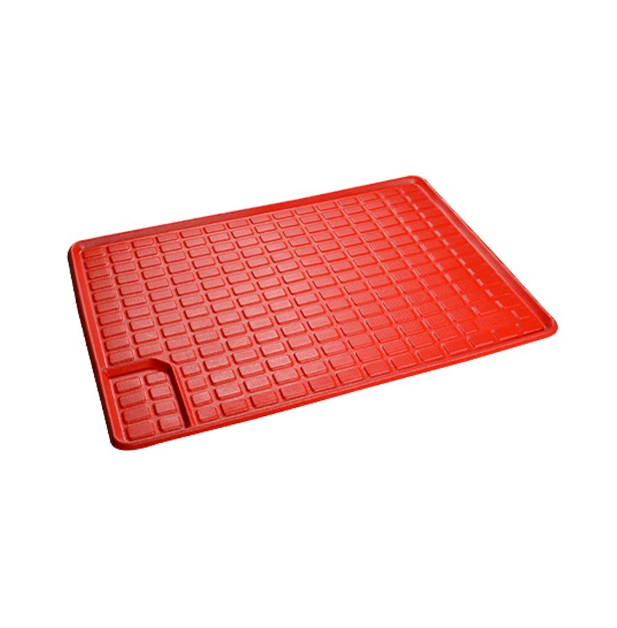 کفی صندوق عقب چرم سه بعدی سیتروئن C4 - قرمز -کاربینو بابل
